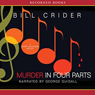 Murder in Four Parts audiobook cover art