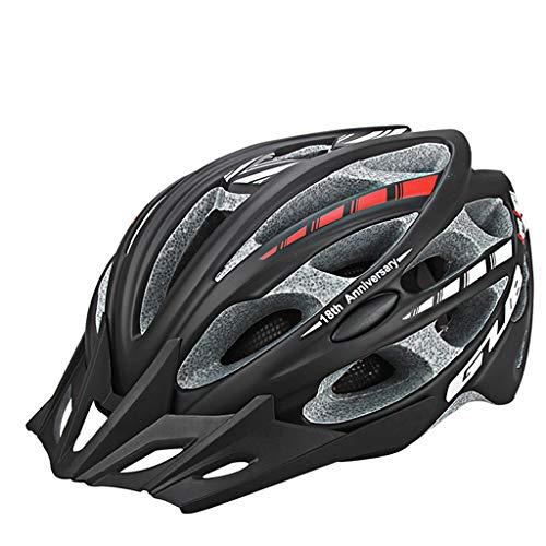 JM- Einteilige Reithelm Männer und Frauen Fahrrad Mountain Road Bike Balance Auto Sicherheit Hut Fahrrad Reitausrüstung (Color : E)