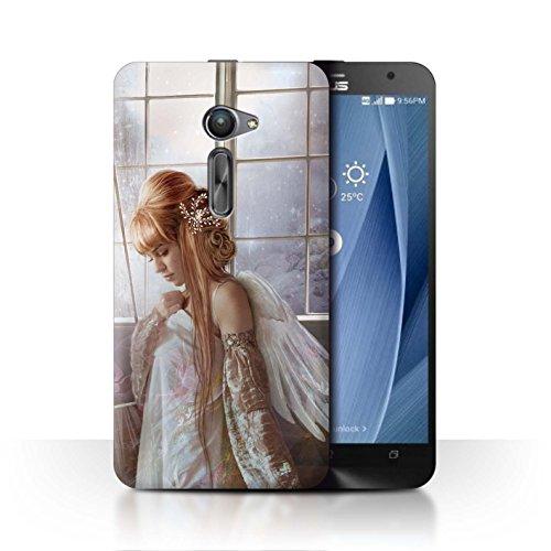 Officiële Elena Dudina hoes/case voor Asus Zenfone 2 ZE500CL / bloem jurk bruid patroon/elegante feeëncollectie