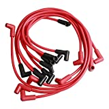 9 Pack Universal 8mm Spark Plug Wires Set (8mm Spark Plug Wire Kit Compatible With Chevy GMC)