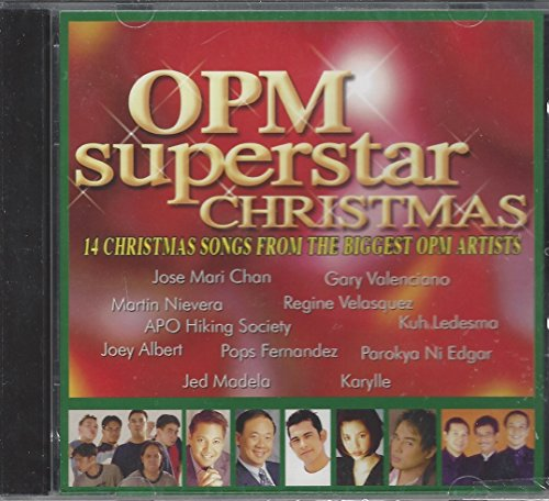 OPM SUPERSTAR CHRISTMAS (14 SONGS FROM THE BIGGEST OPM ARTISTS)