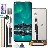 RongZy Reemplazo de Pantalla para Huawei P40 Lite JNY-L22 JNY-L21 JNY-LX1 LCD Screen Digitalizador de Pantalla táctil + Herramientas (Negro)