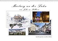 Marburg an der Lahn - ein Jahr in Bildern (Wandkalender 2021 DIN A3 quer): Die Universitaetsstadt im Wandel der Jahreszeiten (Monatskalender, 14 Seiten )