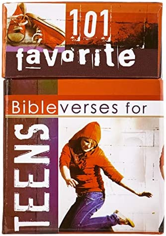 101 Favorite Bible Verses for Teens Cards A Box of Blessings Boxes of Blessing product image