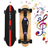 Product Image of the SANSIRP Music Skateboard Complete Double Kick 7 Layer Wooden Cruiser Skateboards...