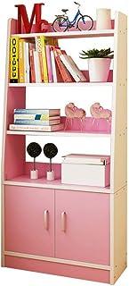Wstomys étagère et bibliothèque étagère étagère étagères Armoire de Plancher Simple Moderne - Rose, Bleu pour Meubles de S...