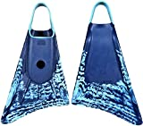 Stealth S1 Supreme Floating Swim FIN Training FINS Dive FINS – Navy/Ice Blue, 7-8.5 (Medium)