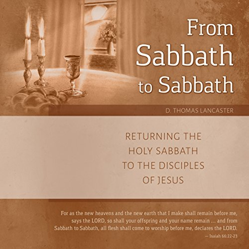 From Sabbath to Sabbath audiobook cover art