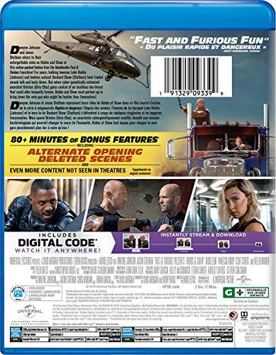 Rapides et Dangereux - Hobbs et Shaw (2019)  [Blu-ray + DVD + Numérique] (Bilingue) - 1