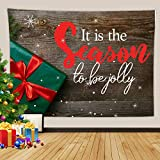 Daesar Tapiz Pared Decoracion Grande,Regalo conIt is The Season to be Jolly Copo...