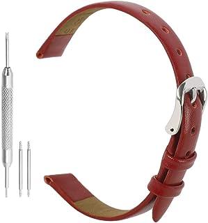 Bracelet de Montre Bracelet Femme Cuir Bracelet Montre Véritable Bracelet de Rechange Bracelet en Cuir