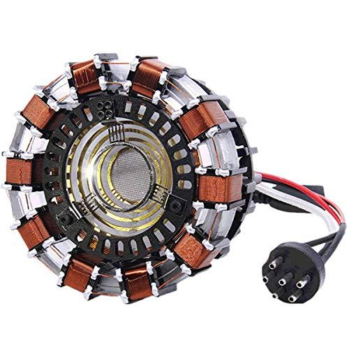 Arc Reactor Lampada, Faway Acrylic Tony DIY Illuminant LED Flash Light Set/Arcylic Kit