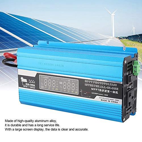 Haushalts-Solar-Wechselrichter, Lade integrierte Maschine, Solar Power Controller 12V bis 220V 1500W