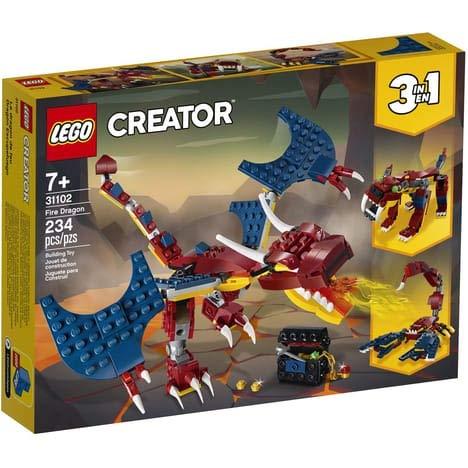 LEGO – Bauspiel – Der Feuerdrache...