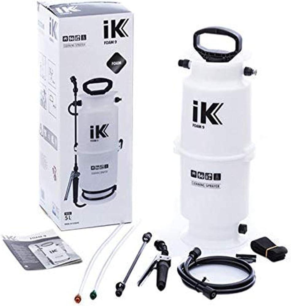 iK Foam 9 Large Pump Al Manufacturer direct delivery sold out. Sprayer Auto De Gallon Professional 1.3