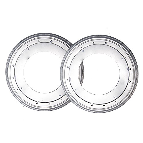 Fasmov 12-Inch Lazy Susan 5//16 Thick Turntable Bearings,Pack of 2