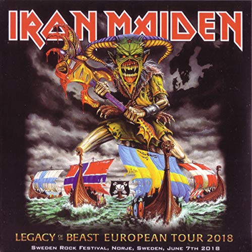 Legacy Of The Beast European Tour 2018 Sweden Rock Festival