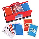 Deluxe Manual Card Shuffler (2-Deck) for Blackjack, Poker - Hand...