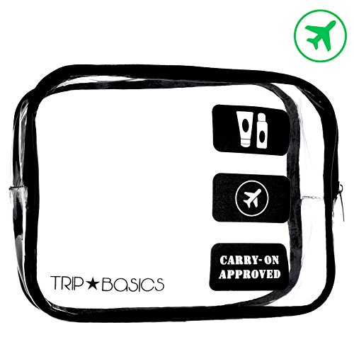 Trip Basics TSA Approved Toiletry Bag – 100% Compliant Travel Bag for Travel...
