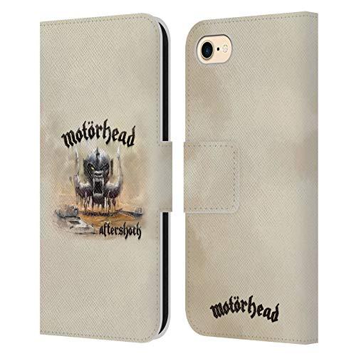 Head Case Designs Licenciado Oficialmente Motorhead Réplica Portadas de Álbumes Carcasa de Cuero Tipo Libro Compatible con Apple iPhone 7 / iPhone 8 / iPhone SE 2020