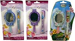 Design International Group Disney Princess and Tinkerbell Pen with Mirror Memo Pad Set of 3 (LDS11407)