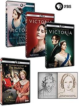 Victoria Gift Pack – Complete Seasons 1 2 & 3 DVD Set With Bonus Wedding DVD Plus Self-Portrait Postcard