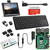 Vilros Raspberry Pi 4 (4GB RAM) Desktop with 8 Inch Screen and 15 Inch Keyboard/Touchpad Combo