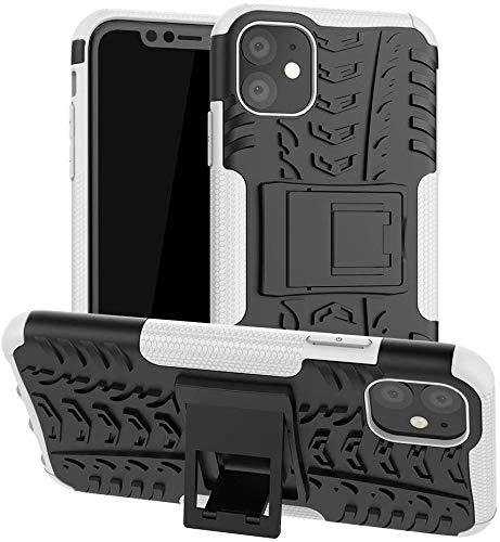 Lapinette – Carcasa compatible con Apple iPhone 11 antigolpes – Carcasa para iPhone 11 – Protección antigolpes – Modelo Spider blanco