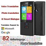 ZSHXF El traductor de Voz instantáneo con Pantalla táctil de 2.4 Pulgadas, Traductor de Voz instantá...