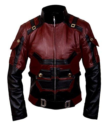 Flesh & Hide F&H Men's Daredevil Matt Murdock Charlie Cox Jacket 2XL Maroon