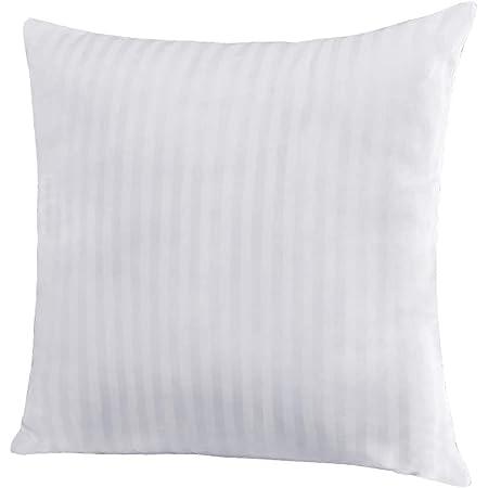 /%100 Cotton 18x18 White Square Pillow Insert Polyester Fiber Filled