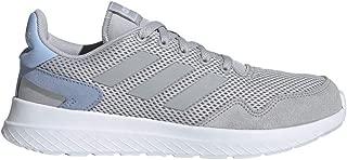 adidas Women's Archivo Sneaker, Grey/Glow Blue, 6 M US