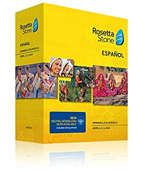 Learn Spanish with Rosetta Stone Level 1-5 Set