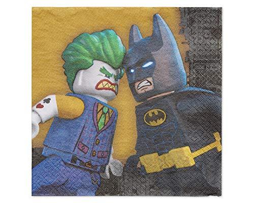 DC Comics Lego Batman servetten, 33 cm
