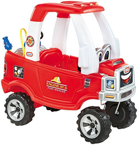Little Tikes Cozy Fire Truck – (Amazon Exclusive)