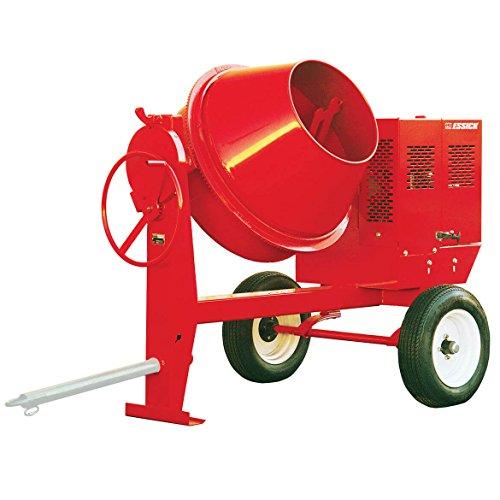 Multiquip MC44SE Concrete Mixer, 1/2 hp, 115V, 1-Phase, 4 cu. ft. Steel Drum