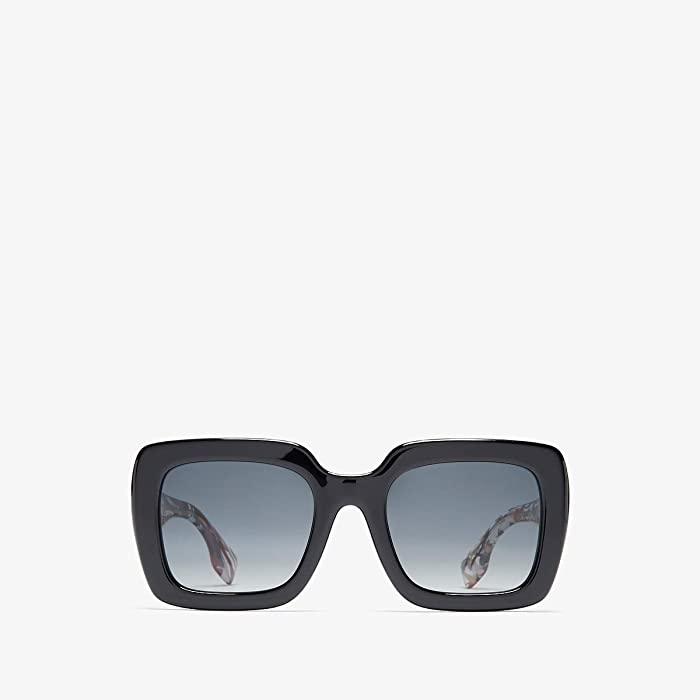 Burberry  0BE4284 (Black/Polarized Grey Gradient) Fashion Sunglasses