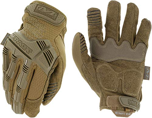 Mechanix Wear - M-Pact Coyote Tactical Gloves (Small, Brown)