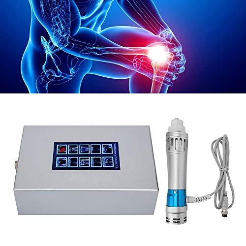 Massaggiatore ED per Alleviare il Dolore, Macchina Elettromagnetica Extracorporea Professionale ad Onde D'urto Tessuto Percussione del Tessuto Profondo Rilassare Sistema Terapia Dolore Muscolare(EU)