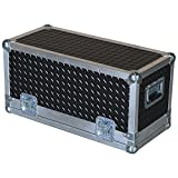 Head Amplifier 3/8 Ply Professional ATA Case with Diamond Plate Laminate Fits Genz Benz Black Pearl 30