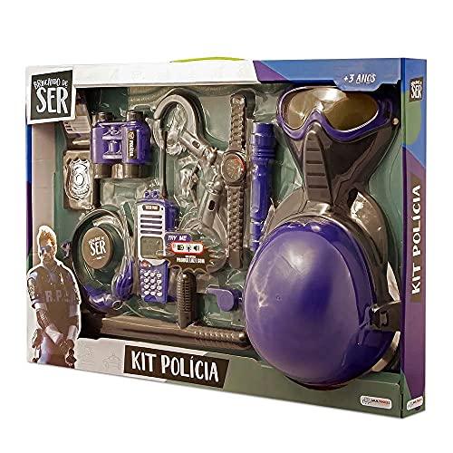 Brincando de Ser Kit Polícia Com Acessórios Indicado para +3 Anos Multikids - BR965