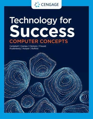 Technology for Success: Computer Concepts (MindTap Course List)