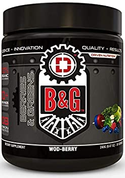 B&G-Berries and Greens Complete Superfood Greens Formula with Probiotics and Digestive Enzymes to Promote Healthy Weight Improved Digestion and Increased Recovery