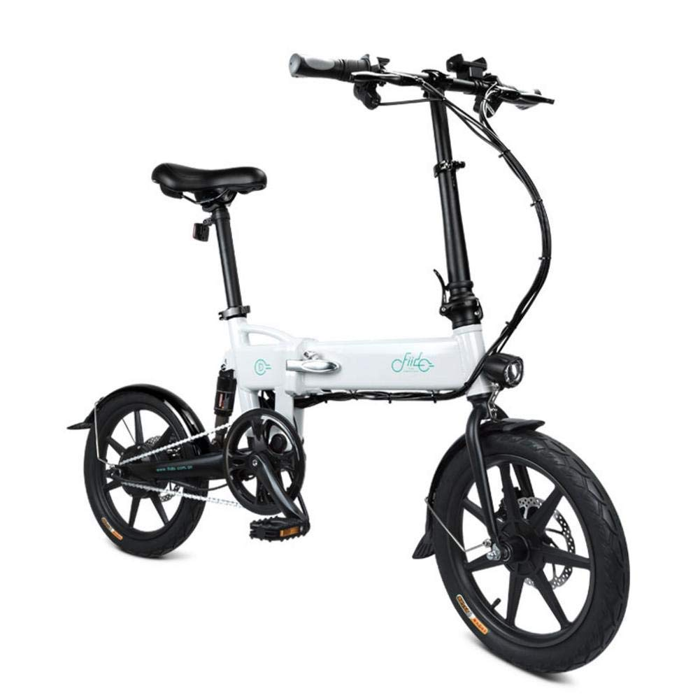 DAPHOME FIIDO D2 Ebike, 50W 7.8Ah Folding Electric Bicycle ...