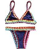 CYYNO Womens Hand-Knitted Upscale Bikini Swimsuit