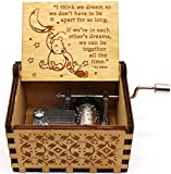 Buildinest You are My Sunshine Music Box – Winnie The Pooh, The Pooh Saying, Gift for Friends, BFF, Christmas - 1 Pc(WNIE-06)