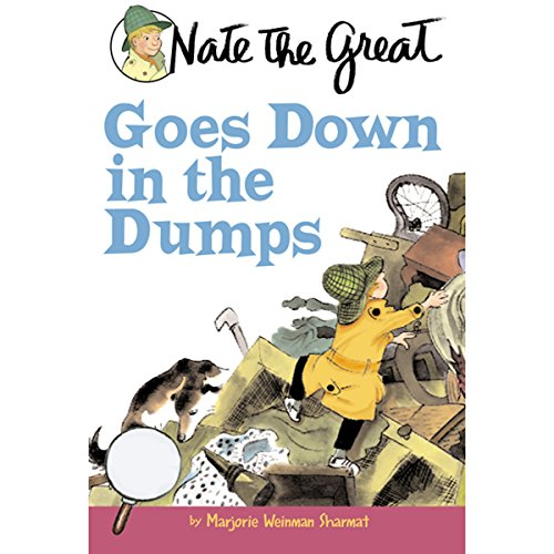 Nate the Great Goes Down in the Dumps audiobook cover art