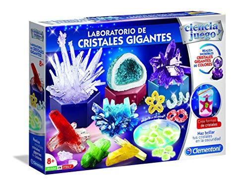 Ciencia y Juego - Laboratorio de Cristales Gigantes (Clement