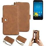 K-S-Trade® 2in1 Mobile Phone Wallet Case For Vestel 5000