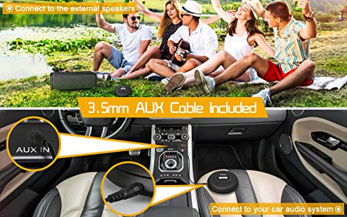 Portable CD Player with Wired Control Stereo Earbuds and 3.5mm Audio Cable, Jinhoo Rechargeable CD Player for car, FM Radio, Anti-Skip/Shockproof Protection Small Music MP3 Players 7